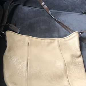 Beautiful Cole Haan all leather bag